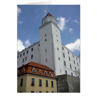 bratislava corner up greeting card