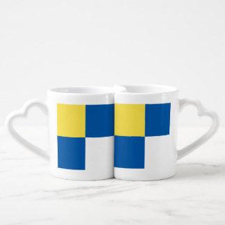 Bratislava Couples' Coffee Mug Set