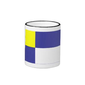 Bratislava Flag Ringer Coffee Mug