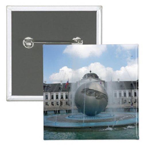 bratislava grassalkovich pinback button