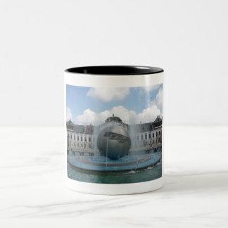 bratislava grassalkovich Two-Tone coffee mug
