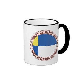 Bratislava Greatest Team Ringer Coffee Mug