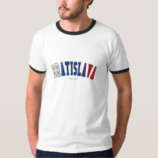 Bratislava in Slovakia national flag colors Shirt