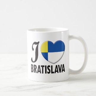 Bratislava Love Classic White Coffee Mug