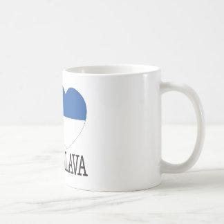 Bratislava Love v2 Classic White Coffee Mug