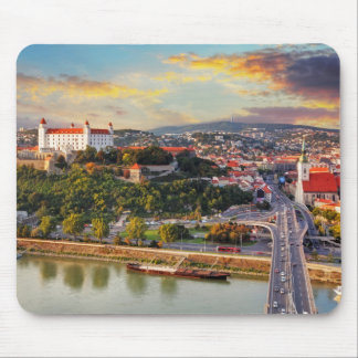 Bratislava, Slovakia Mouse Pad