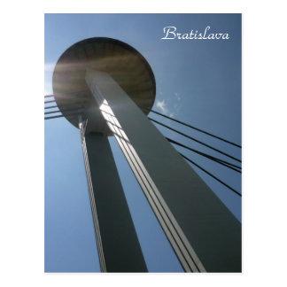 bratislava ufo high post cards