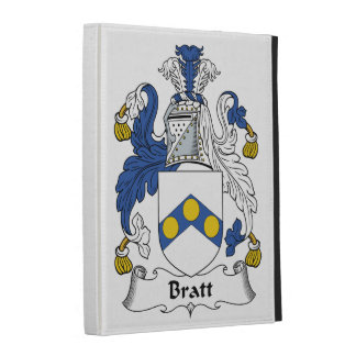 Bratt Family Crest iPad Cases