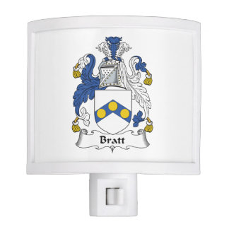 Bratt Family Crest Nite Lite