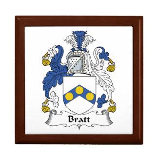 Bratt Family Crest Jewelry Boxes