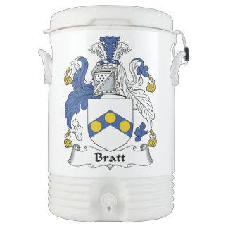 Bratt Family Crest Igloo Beverage Dispenser