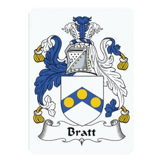 Bratt Family Crest Announcements