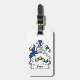 Bratt Family Crest Tags For Luggage