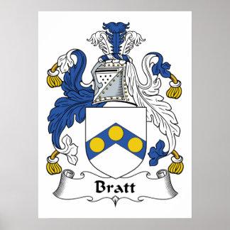 Bratt Family Crest Print