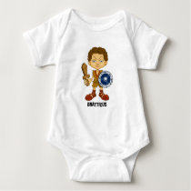 Bratticus (The Hollyweirdos Collection) Baby Bodysuit