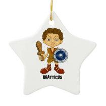 Bratticus (The Hollyweirdos Collection) Ceramic Ornament