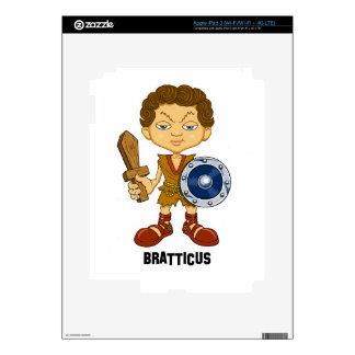 Bratticus (The Hollyweirdos Collection) iPad 3 Skin