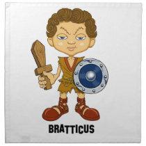 Bratticus (The Hollyweirdos Collection) Napkin