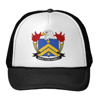 Brattle Family Crest Trucker Hat