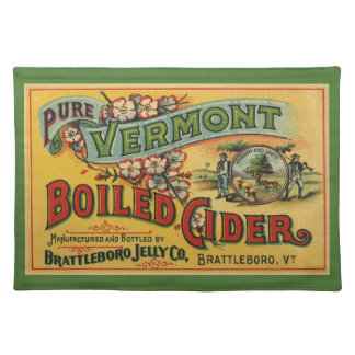 Brattleboro Jelly Boiled Cider from Vermont Cloth Place Mat