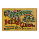 Brattleboro Jelly Boiled Cider from Vermont Poster