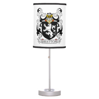 Bratton Family Crest Table Lamp