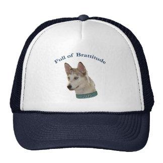 Bratty Ausky Dog Brattitude Trucker Hat