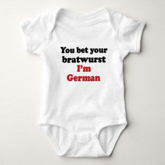 Bratwurst alemán camisas