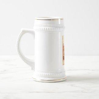 Bratwurstglöcklein, Nürnberg Germany 1910 Vintage mug