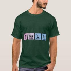 Men's Basic Dark T-Shirt with Brauer design
