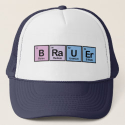 Trucker Hat with Brauer design