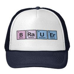 Trucker Hat with Brauer design