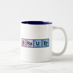 Two-Tone Mug with Brauer design