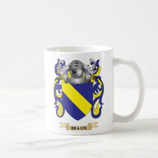 Braun Coat of Arms (Family Crest) Mugs