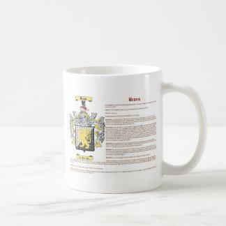 Braun (con el significado del escudo de armas) tazas de café