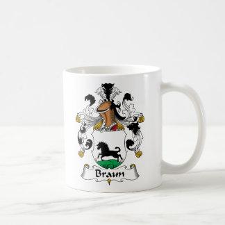 Braun Family Crest Coffee Mugs