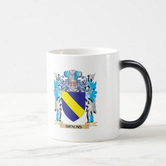 Brauns Coat of Arms Mugs