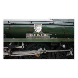 Braunton loco at Williton, Somerset Business Card