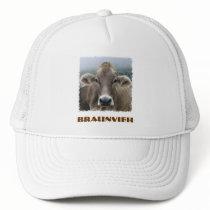 Braunvieh or Swiss Brown cow hat