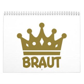 Braut Calendar