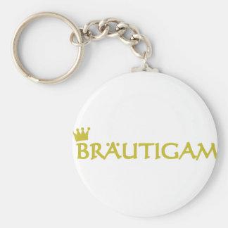 Bräutigam icon keychain