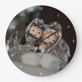 """Brautpaar"" by mysteryella Reloj Redondo Grande"