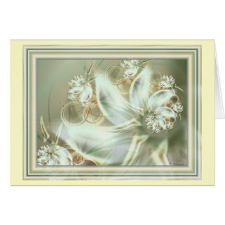 Brautstrauss (bridal bouquet) card