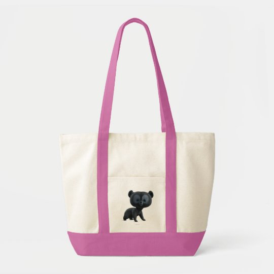 Brave Bear Cub 1 Tote Bag