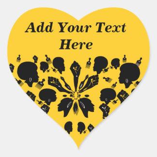 Brave & Beautiful_ Heart Sticker