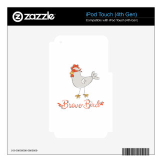 Brave Bird iPod Touch 4G Skins