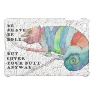 Brave Chameleon iPad Mini Cover