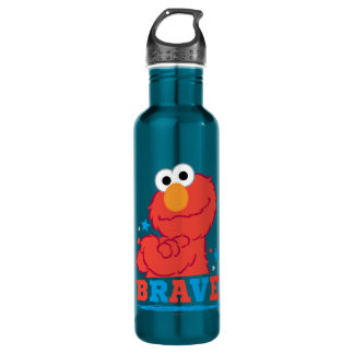 Brave Elmo Stainless Steel Water Bottle