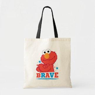 Brave Elmo Tote Bag