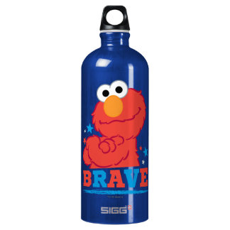 Brave Elmo Water Bottle